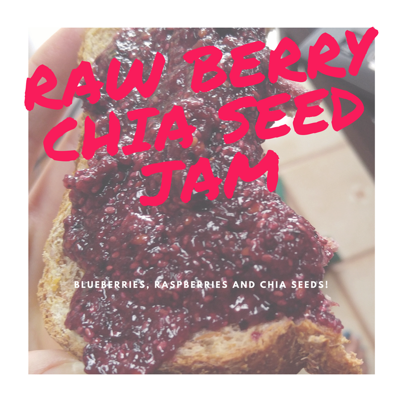 Blueberry and Raspberry Chia Seed Jam