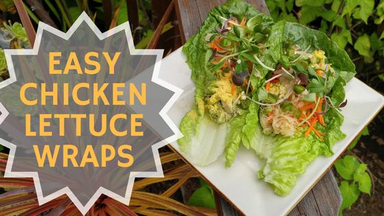 Easy Chicken Lettuce Wraps