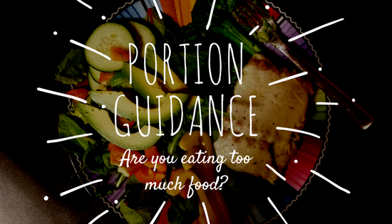 food portion guidance