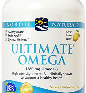 Nordic Naturals – Ultimate Omega, Support for a Healthy Heart, 180 Soft Gels 1000 mg